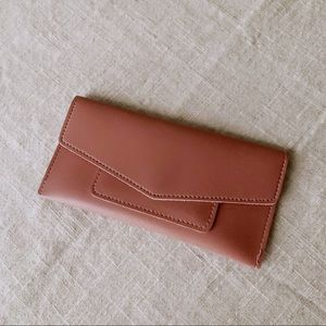 Handbags - Blush Pink Wallet or Checkbook Holder